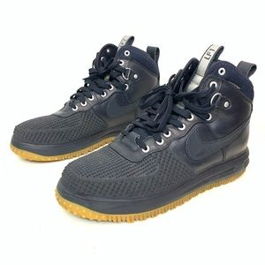 Nike Lunar Force 1 Duckboot Navy Blue Men Sz 11.5